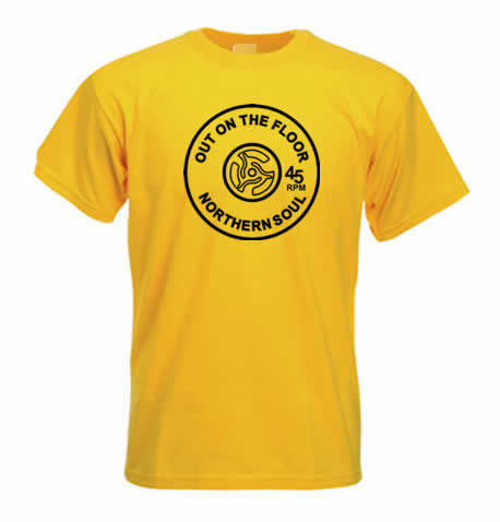 Northern Soul T Shirt - Out On The Floor ss127