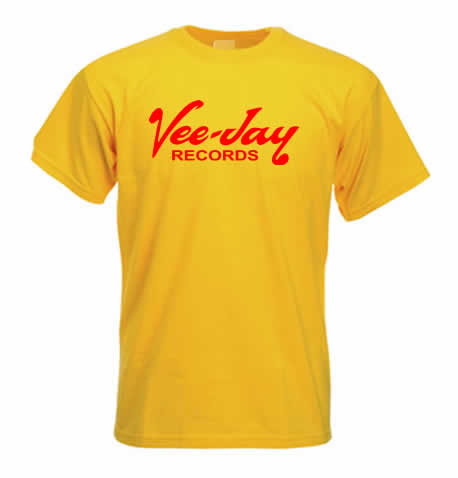Northern Soul T Shirt - Vee Jay Records ss145
