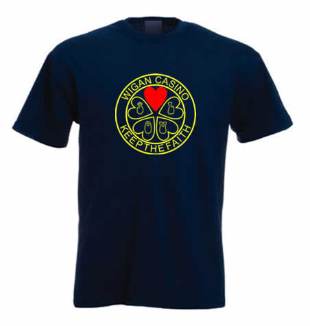 Northern Sout T Shirt - Keep The Faith Wigan Casino