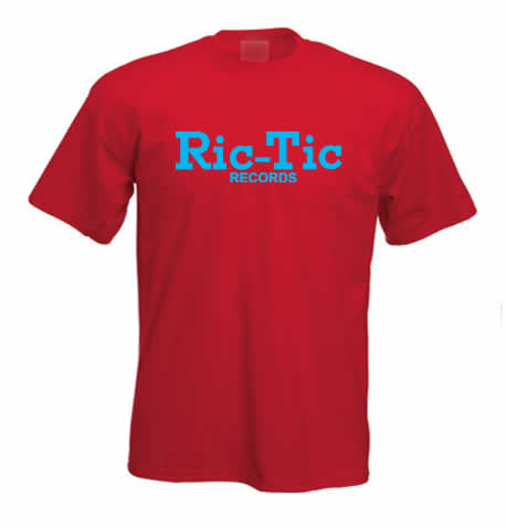 Ric Tic Records T Shirt ss156
