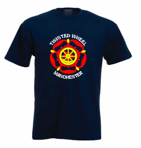 Northern soul T shirt - Twisted Wheel Manchester ss185