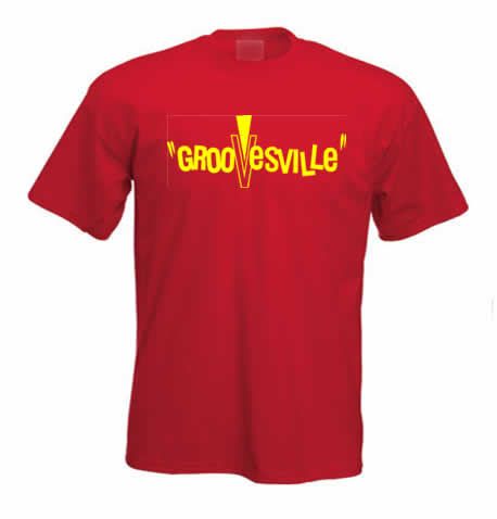 Groovesville Records T shirt 207