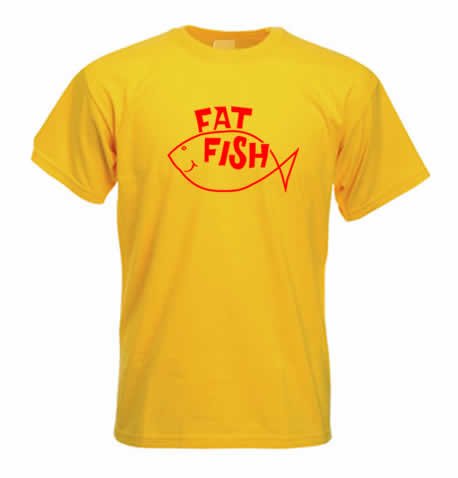 Northern Soul T Shirt - FAT FISH Records SS208