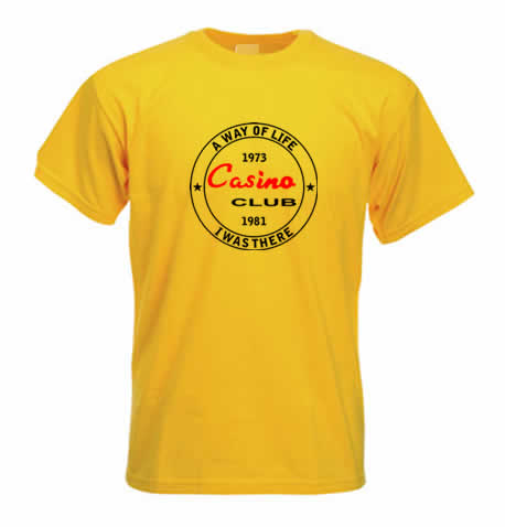 Northern Soul T shirt - Wigan Casino I Was There- ss210