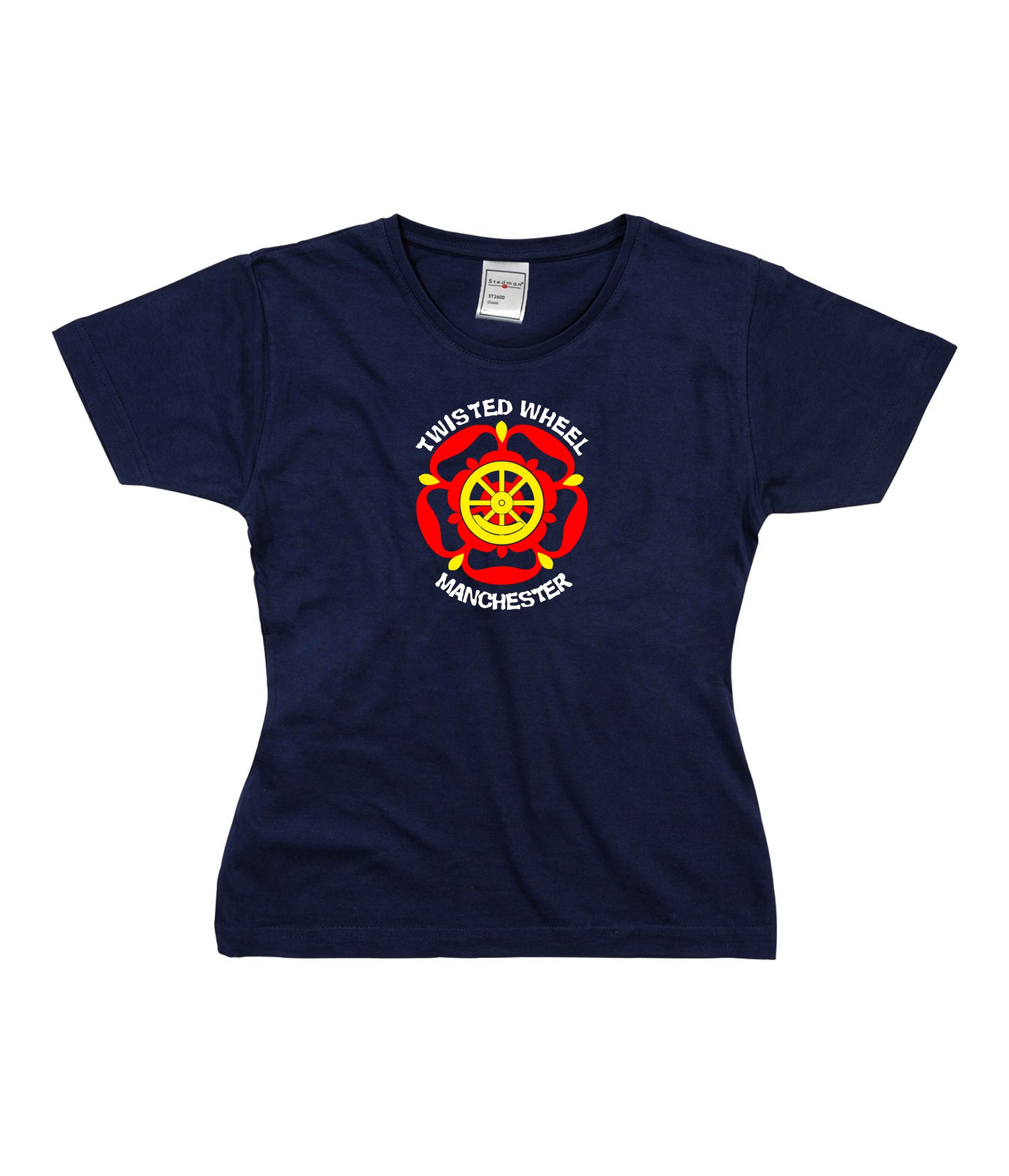 Womens Northern Soul T Shirt - Twisted Wheel Manchester ss185