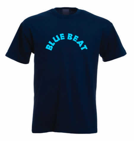 Blue Beat Records T shirt