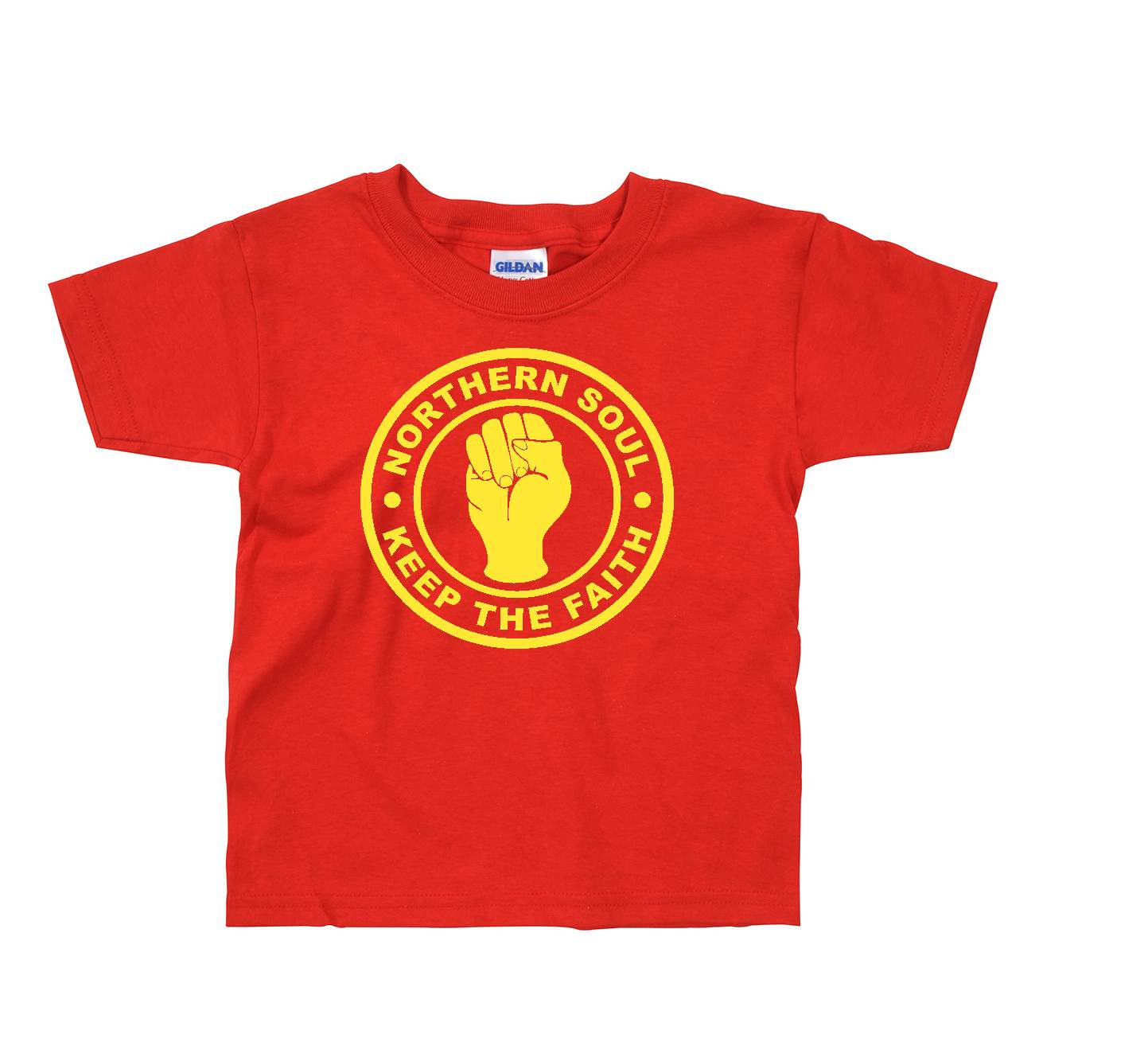 Childrens Northern Soul T Shirt - Keep The Faith ss122