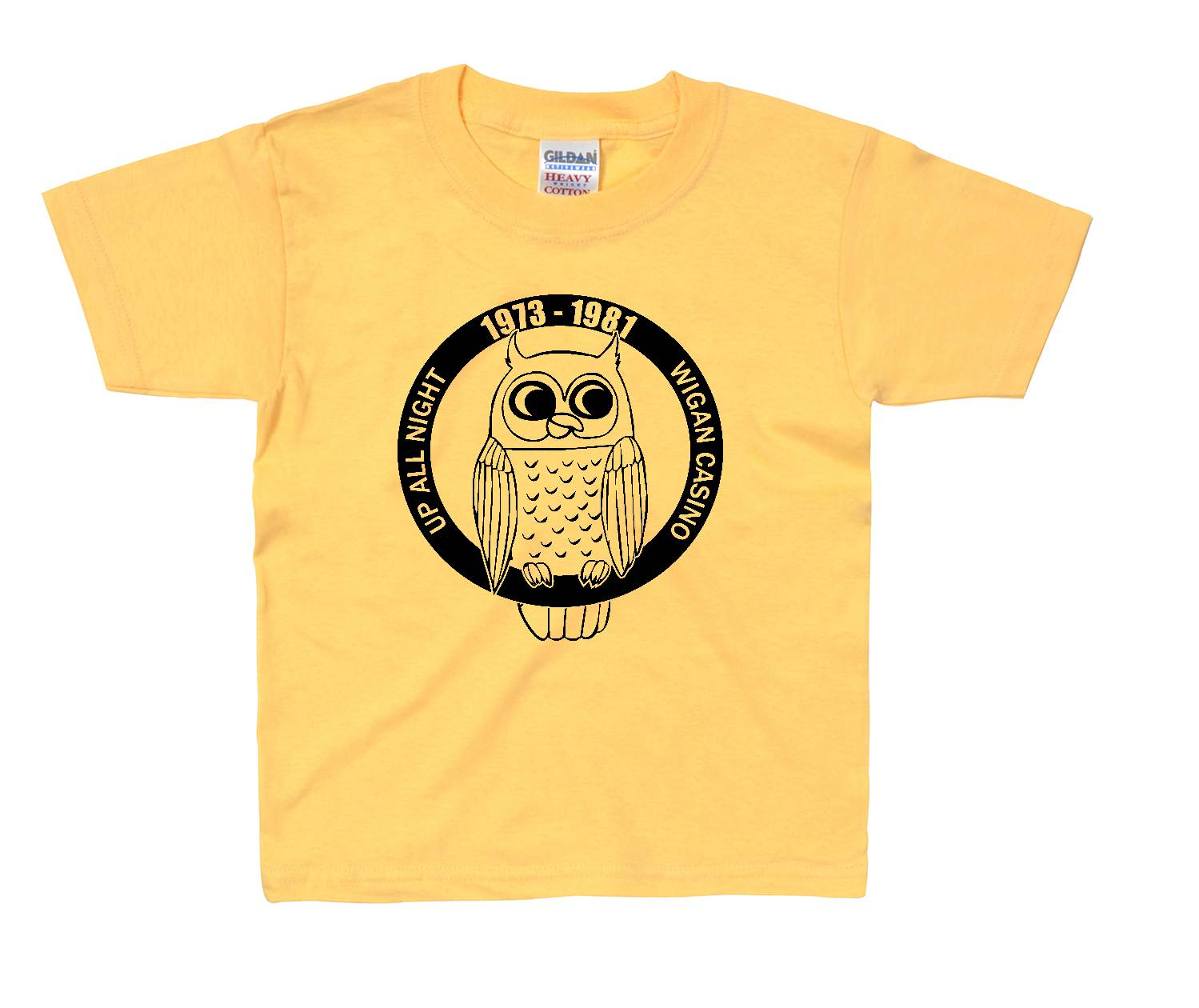 Childrens Northern Soul T shirt - Up All Night ss214