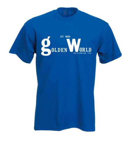 Northern Soul T Shirt - Golden World ss234