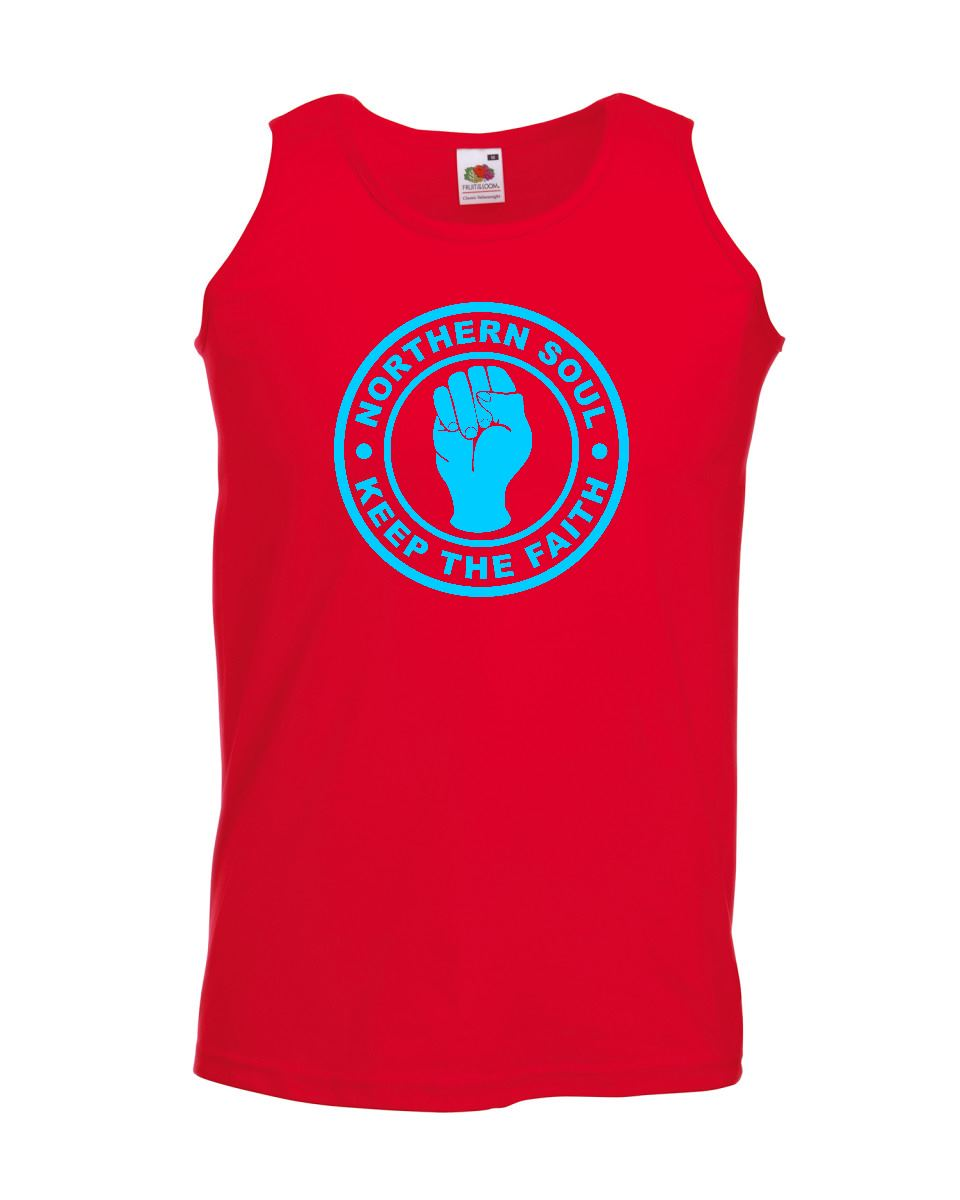 Northern Soul Vests - Keep The Faith ss122v
