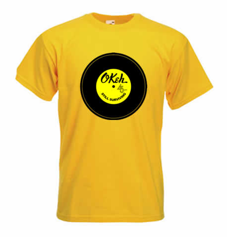 Northern Soul T Shirt - Okeh Soul Still Survivng