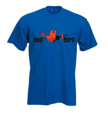 Northern Soul T Shirt - Red Bird Records ss233