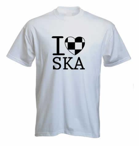 I Love SKA T shirt