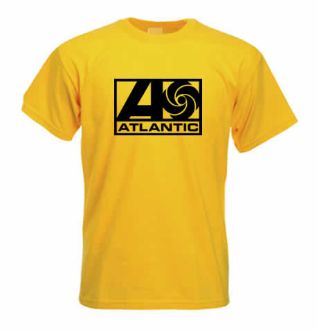Northern Soul T Shirt - Atlantic Records ss102