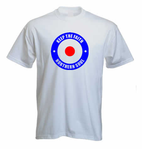 Northern Soul T shirt - Target ss188